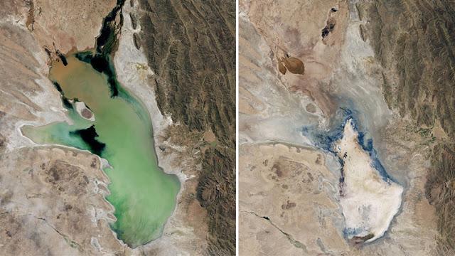 Desaparece el segundo lago más extenso de Bolivia