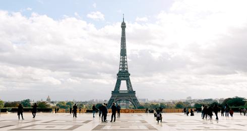 Trocadero Eiffel Tower Paris