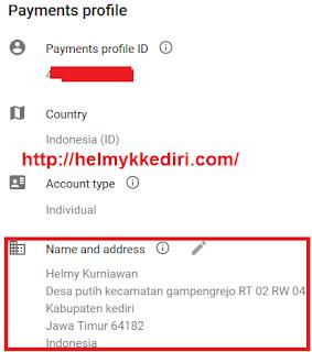 Verifikasi PIN google adsense dengan KTP2