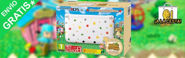 Oferta Nintendo 3ds Xl Especial Animal Crossing Juego Por 210 72