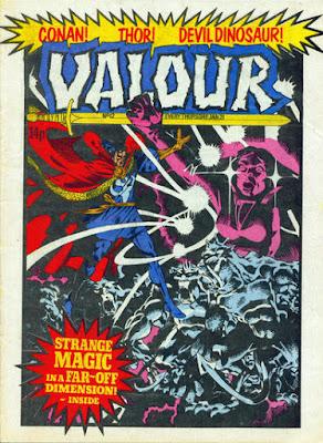 Valour #12, Dr Strange