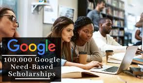 100000 Google scholarships