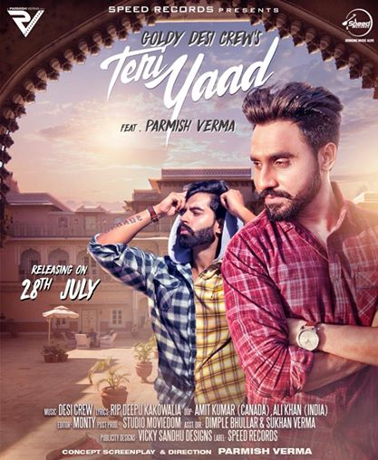 Teri Yaad    Goldy Desi Crew  new song