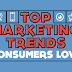 2016 Digital Marketing Trends Consumers Love