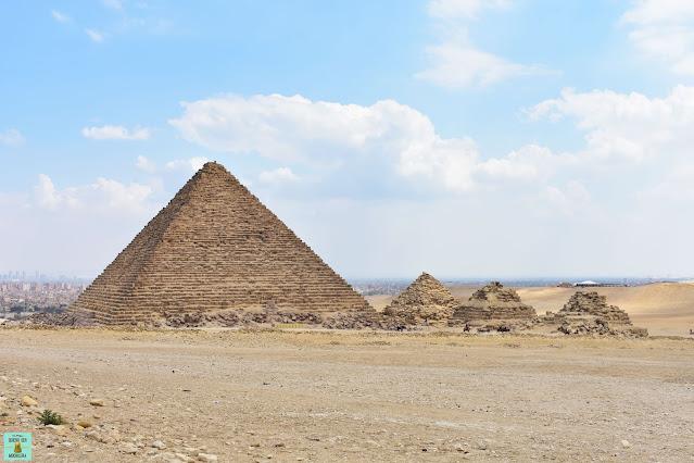 Pirámide de Micerino en Giza