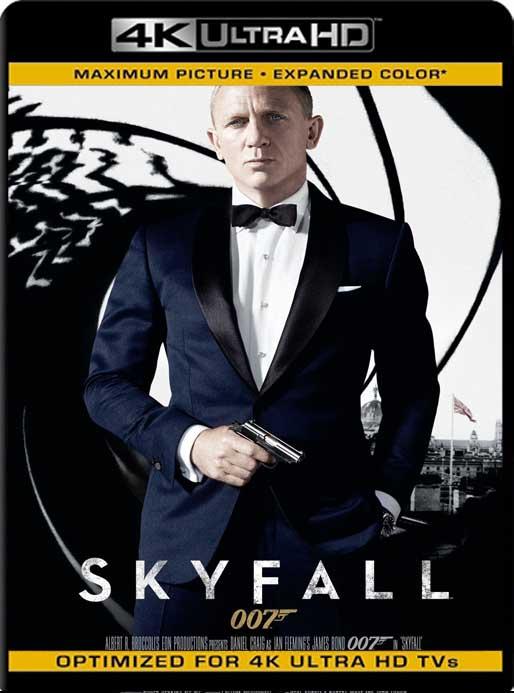 007: Operación Skyfall (2012) 4K 2160p UHD [HDR] Latino [GoogleDrive]