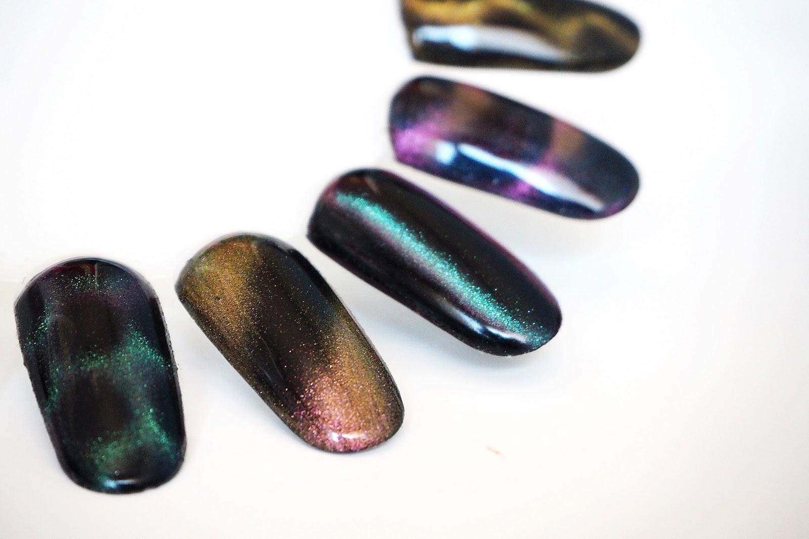 magnes paznokcie