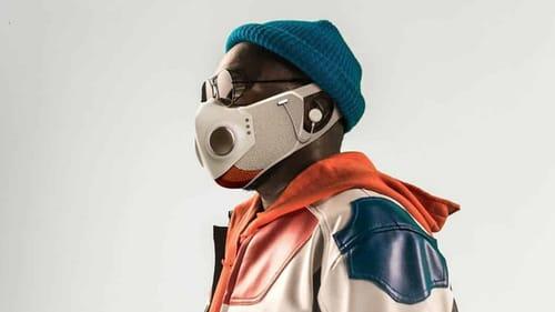 XUPERMASK .. mask with headphones