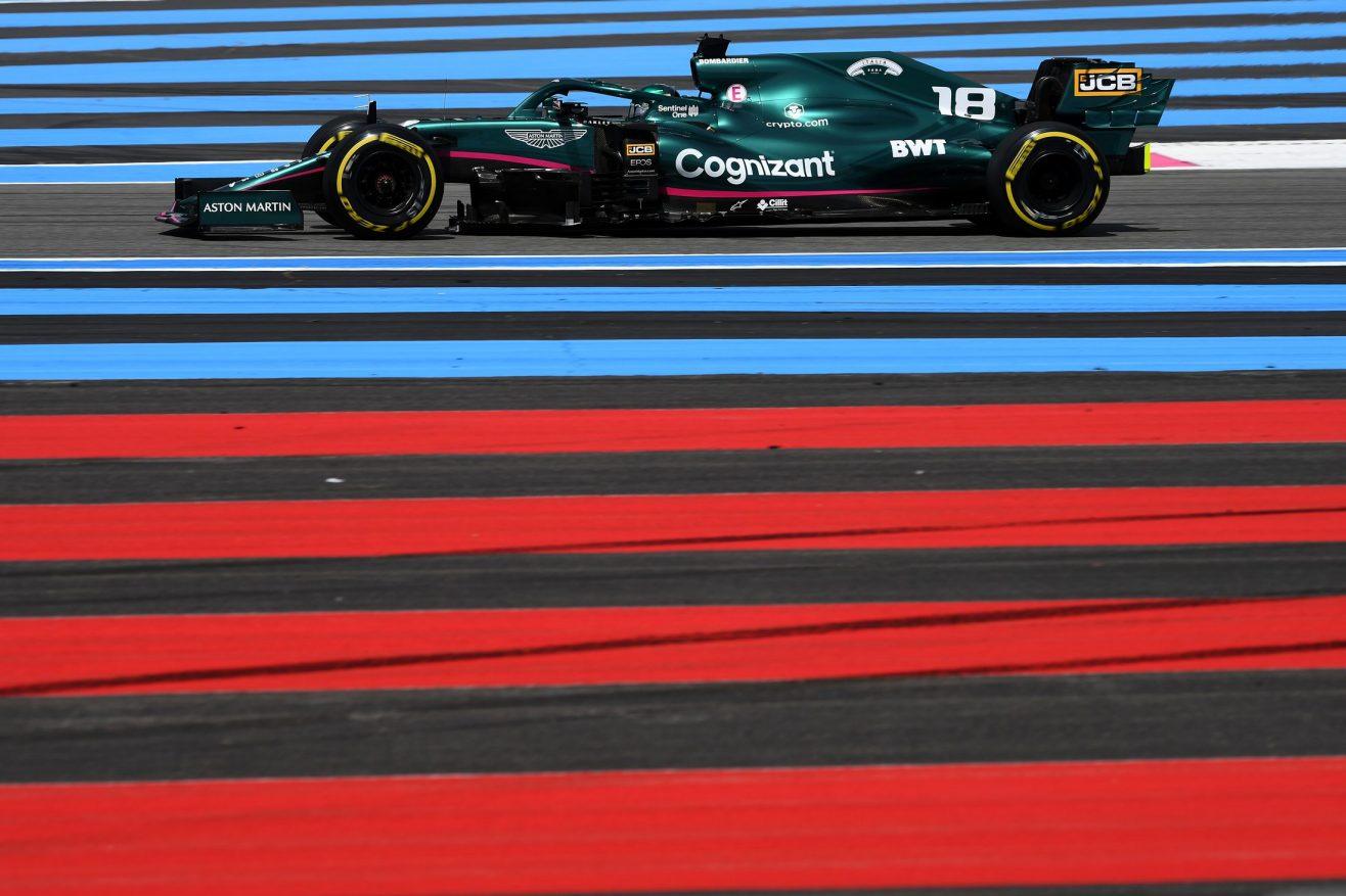 O que a equipe Aston Martin disse - sexta-feira na França