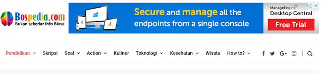 Bospedia.com Salah Satu Situs Informasi Recomended
