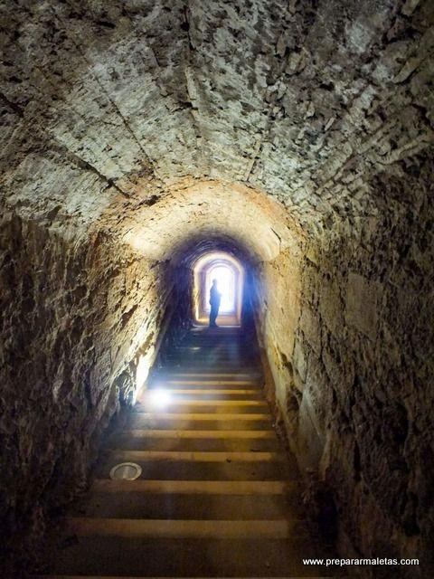 túneles de la fortificación de Lleida