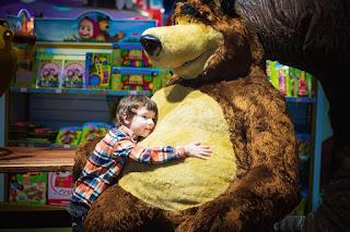 urs de jucărie