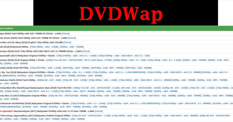 Dvdwap 2020 Latest Tamil Malayalam Hd Movies Download Dvdwap