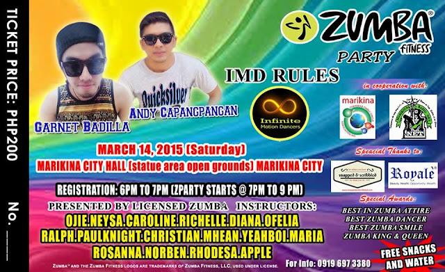 Zumba Party Marikina