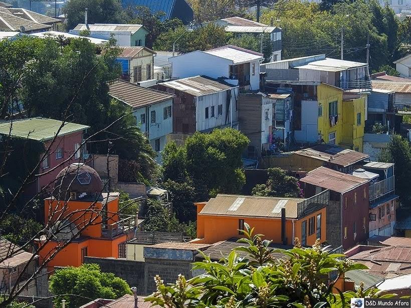Casas de Valparaíso, Chile - O que fazer em Valparaíso em algumas horas