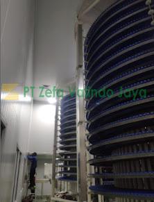 instalasi sistem HVAC dan filter pt stanli trijaya mandiri pabrik makanan