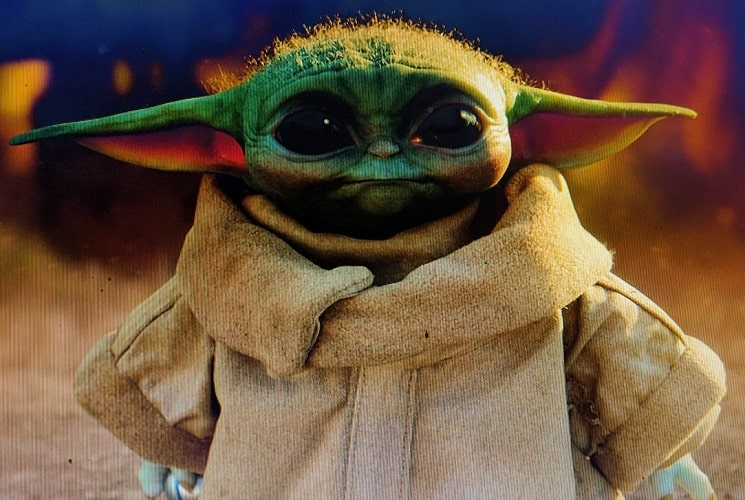 Baby Yoda, is now available in 3D in Google's augmented reality.