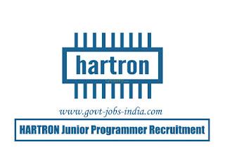 HARTRON Junior Programmer Recruitment 2020