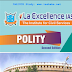 La Excellence Polity Ready Reckoner 2020 PDF Notes Download in English