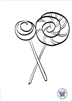 Sweet lollipop coloring page-4