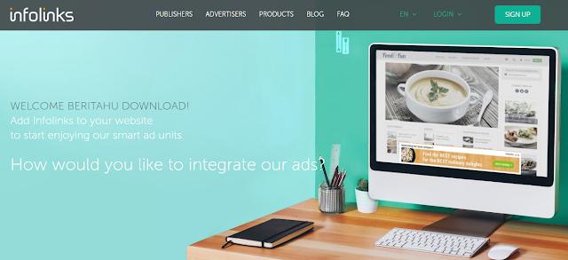 Infolinks Best Adsense alternative, join now
