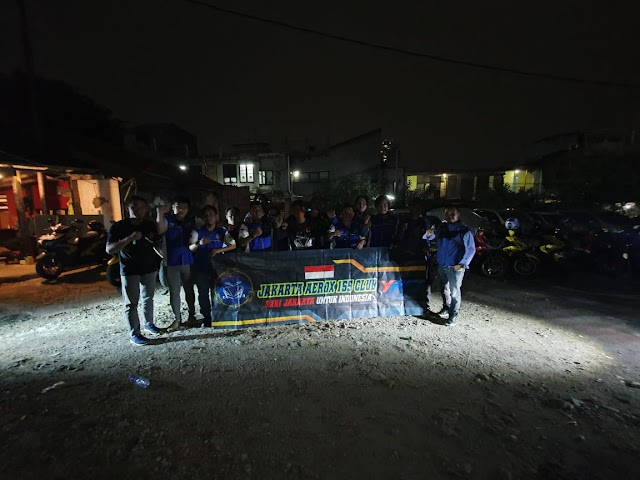Komunitas Yamaha Aerox 155 Jakarta
