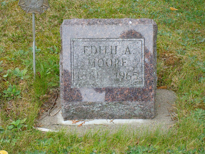 edith anora gauslin nault moore forest home cemetery rhinelander wisconsin stephenson michigan