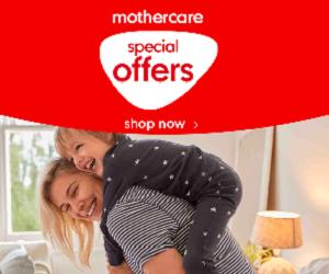 كوبون خصم بقيمة 10% على كل المنتجات للعملاء الجدد مع Mothercare