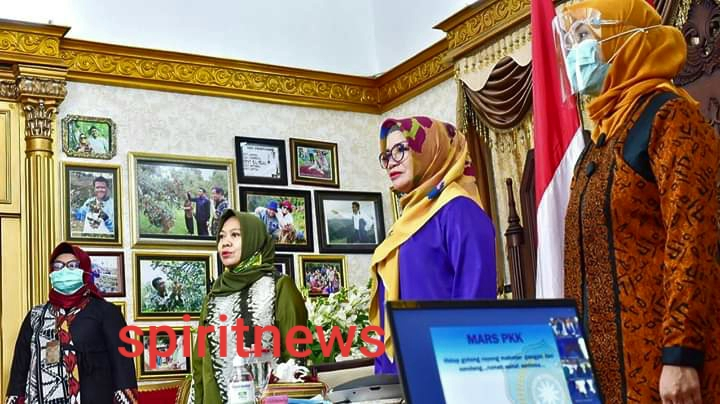Isteri Nurdin Abdullah Minta Diaktifkan Kembali Posyandu