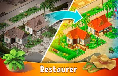 تحميل لعبة الالغاز  Hidden Resort: Adventure Bay APK النسخة المهكرة للاجهزة الاندرويد