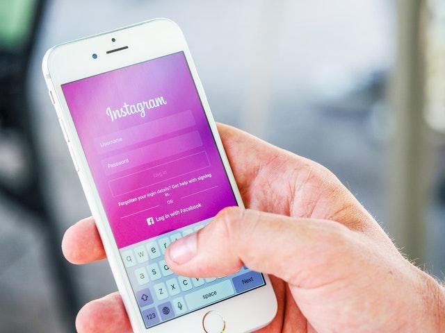 Instagram login in mobile