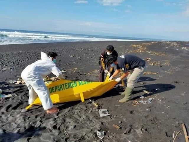 Warga Digegerkan Penemuan Mayat Tanpa Identitas di Pantai Watu Pecak