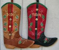 stivali da cowboy calza befana