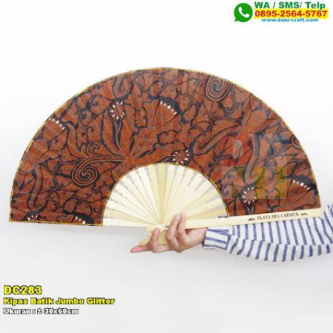 Kipas Batik Jumbo Glitter