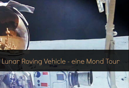 Epic Mondbuggy am Montag | LRV on the Moon - Apollo 16 - HD Video Stabilized ( 1 Video )