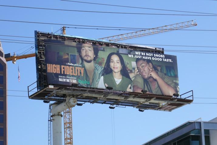 High Fidelity series premiere billboard