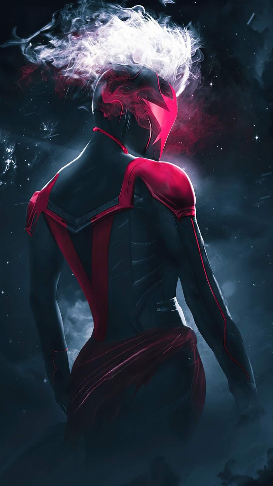 Captain Marvel Concept Art mobile Wallpaper