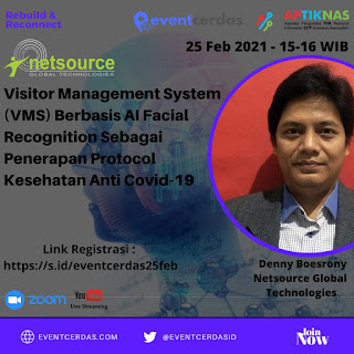 Webinar B2BTalk Visitor Management System berbasis AI Facial Recognition - 25 Feb 2021
