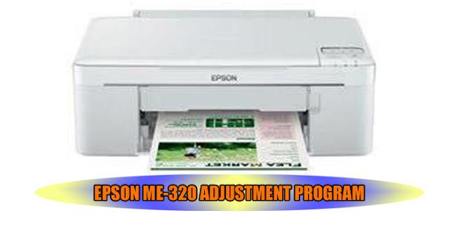 EPSON ME-320 PRINTER ADJUSTMENT PROGRAM