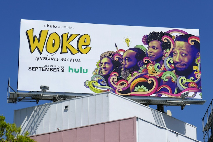 Woke series launch billboard