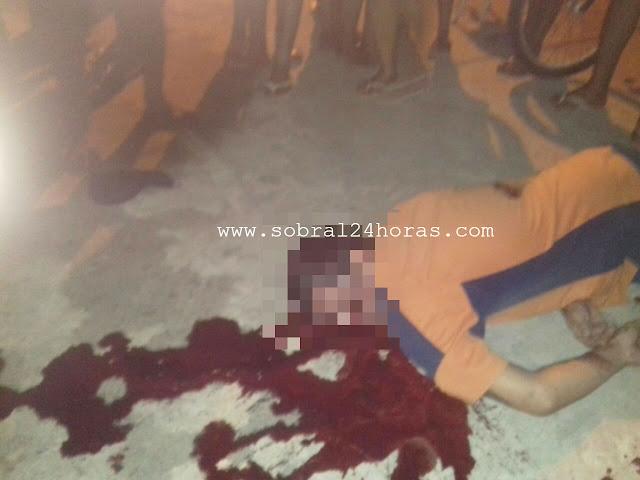 Jovem é executado no bairro Dom Expedito com vários tiros na cabeça