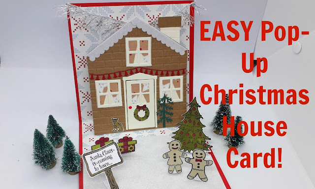 Easy pop-up cards, positivelypapercraft, easy Christmas cards
