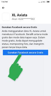 Cara Menampilkan Tombol Mode Gratis Facebook Yang Hilang