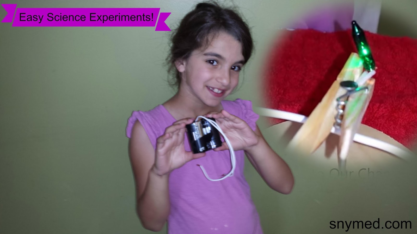 snymed: Easy Science Experiments! Do At Home or In the