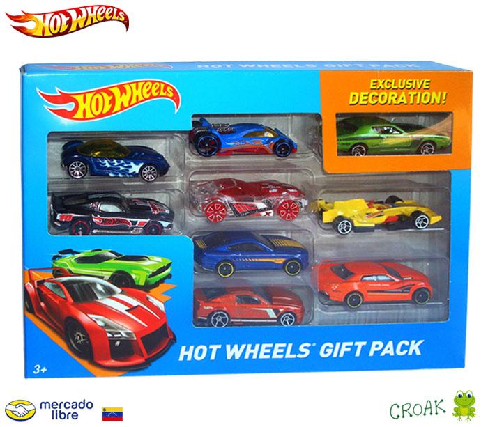 Croak infantil juguetes paquete de carros hot wheels 9 carritos croak for 9 salon de hot wheels
