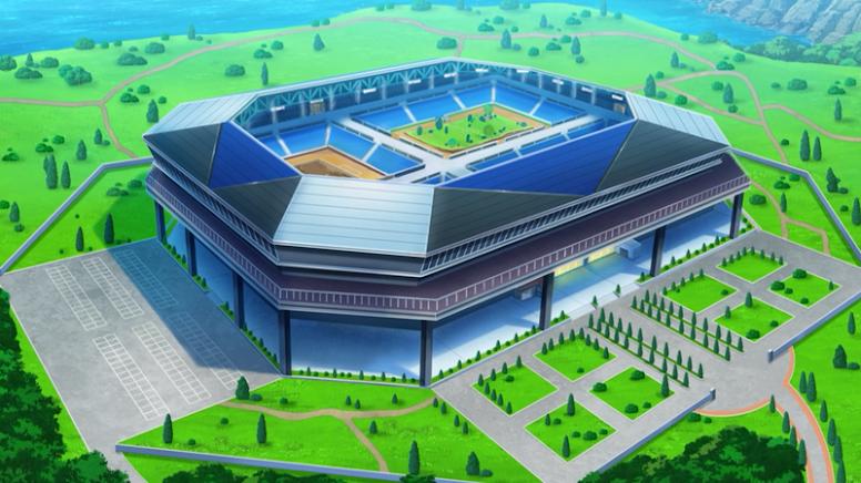 Estádio Festival de Batalha Cidade Shalour