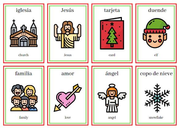happy Christmas in Spanish