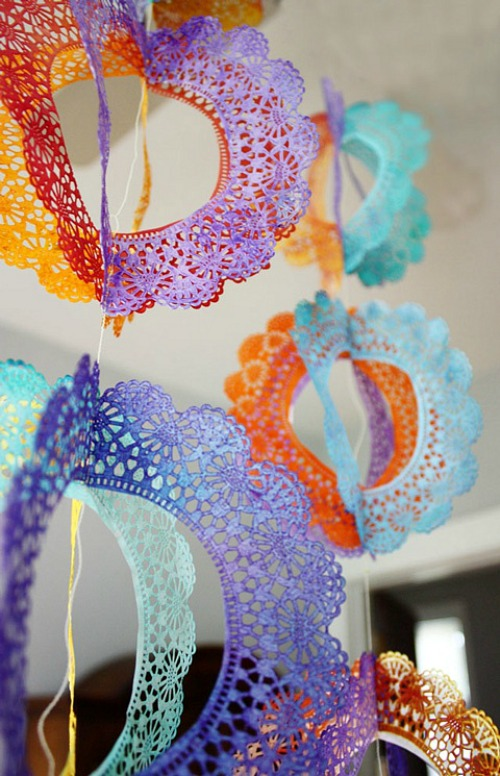 Doily Party Decorations
