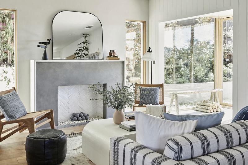 Japandi Style in a zen Los Angeles home