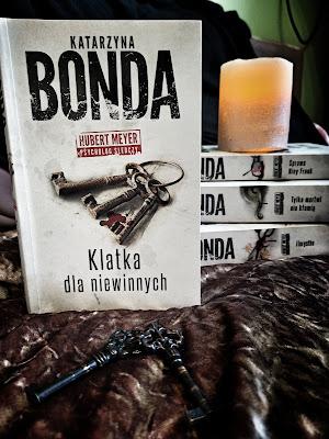 """""""Klatka dla niewinnych""""- Katarzyna Bonda"""